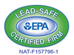 We are a U.S. EPA Lead-Safe certified firm.